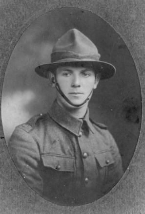 Portrait, Arthur Davidson in uniform - No known copyright restrictions