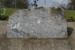 Pukekohe Intermediate School, WW1, Memorial stones (photo J Halpin September 2010) - No known copyright restrictions