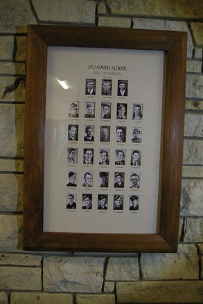 Roll of Honour, portraits, Dilworth School, Epsom, Auckland - No known copyright restrictions
