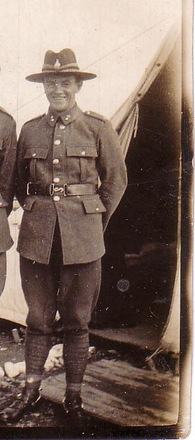 Portrait Berty Elliott full length, in uniform - No known copyright restrictions