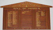 Roll of Honour, College Rifles, Rugby Union Football & Sports Club, Auckland (image I. Appleton July 2012) - No known copyright restrictions - No known copyright restrictions