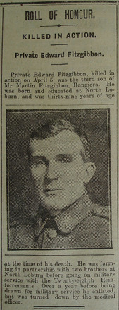 Portrait, Obituary The Star, 3 May 1918 - No known copyright restrictions