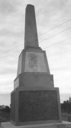 Herbert War Memorial, North Otago (G Fortune, 2009) - Image has All Rights Reserved