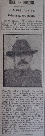 Portrait, Obituary The Star, 11 May 1918 - No known copyright restrictions