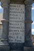 Drury-Runciman War Memorial name panel beginning with Kern (image J Halpin 2010) - No known copyright restrictions