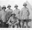 Group officers from the 15th Company Imperial Camel Corps. Portrait, McCallum centre from Powles, C.G. (1922). p.110 - No known copyright restrictions