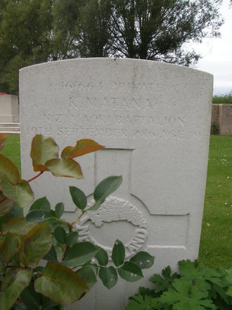 Headstone, Dartmoor Cemetery, Somme (photo Rose Young, 19 September 2007) - No known copyright restrictions