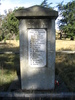 Sutherlands War Memorial Otago. Listing those killed in action and also those who served. Photo of memorial donated by Brian Davison 2009 - No known copyright restrictions