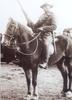 Portrait, L.V. Wendelborn on horseback, Nelson, 1915. - No known copyright restrictions