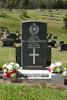 Headstone, Waikumete Cemetery, Auckland (photo J. Halpin 2012) - This image may be subject to copyright