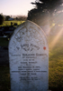Image of headstone at Waiuku Cemetery provided by Paul F. Baker July 2009. - No known copyright restrictions
