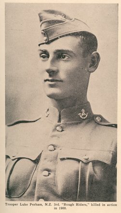Portrait, Trooper Luke Perham. - No known copyright restrictions