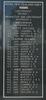 New Zealand Naval Memorial, Devonport, Panel 1: Royal New Zealand Navy - Lieutenant, Paymaster Sub-Lieutenant, Midshipman, Petty Officers, Leading Seamen, Able Seamen - Atkinson - Dryland (photo John Halpin 2011) - CC BY John Halpin