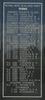 New Zealand Naval Memorial, Devonport, Panel 6: Royal New Zealand Navy - Joiners Fourth Class, Plumber Fourth Class, Painters Fourth Class, Writers, Supply Assistants, Cooks, Assistant Cooks, Leading Steward, Stewards (digital photo John Halpin 2011) - CC BY John Halpin