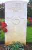 Headstone, Suda Bay War Cemetery. Photograph by M. Newcombe - This image may be subject to copyright