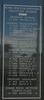 New Zealand Naval Memorial, Devonport, Panel 12: Royal New Zealand Naval Volunteer Reserve - Ordinary Seamen, Leading Telegraphists, Telegraphists, Leading Signalman, Signalmen, Ordinary Signalmen, Engine Room Artificer Fourth Class (digital photo John Halpin 2011) - CC BY John Halpin