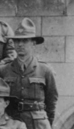 Andrew Hamilton detail from group photograph (kindly provided by family) - No known copyright restrictions