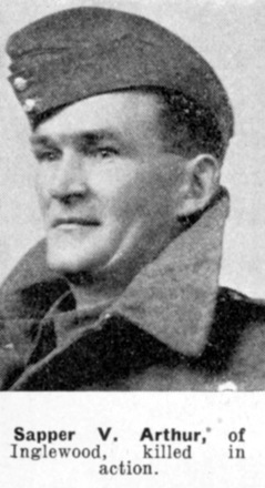 Portrait from The Weekly News; 9 July 1941 - This image may be subject to copyright