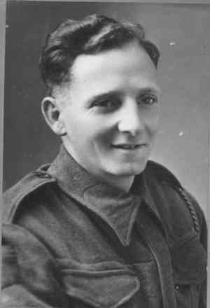 Portrait, on final leave WW2 - This image may be subject to copyright