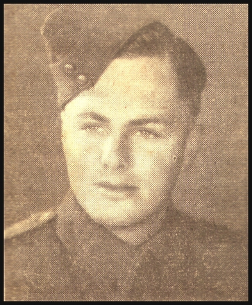 Portrait. Alvan William Harrison (67131) or his brother, Walter Valentine Harrison (29905). (Northland roll of honour and servicemen of WW II 2002) - This image may be subject to copyright