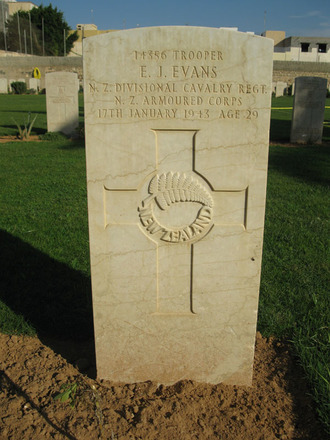 Headstone, Tripoli War Cemetery (2009) - This image may be subject to copyright