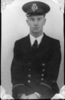 Portrait, Ivan Excell in uniform. - This image may be subject to copyright