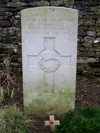 Headstone at Little Rissington (St Peter) Churchyard - This image may be subject to copyright