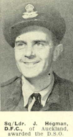Portrait, awarded DSO from The Weekly News; 15 March 1944 - This image may be subject to copyright