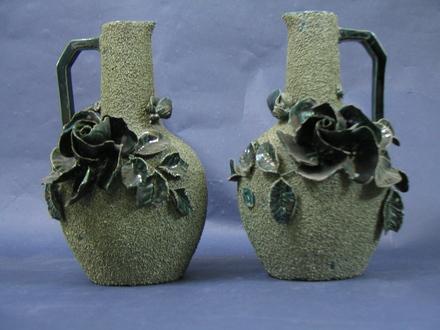 vase, pair