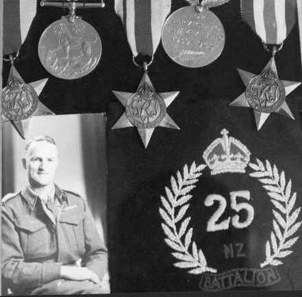 Portrait, with medals - This image may be subject to copyright
