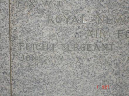 Gibraltar Memorial, Detail of Name panels 1939-1945, Walter Jones - This image may be subject to copyright