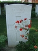 Headstone, Forli Cemetery (photo Gabrielle Fortune 2008) - Image has All Rights Reserved