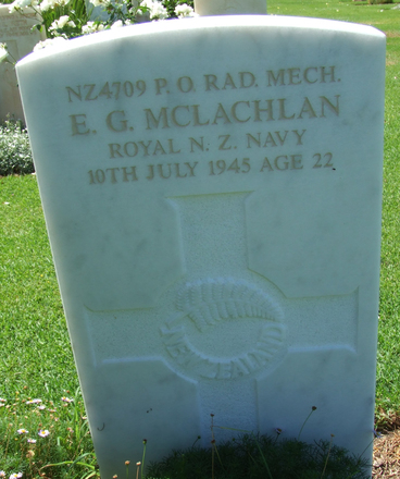 Headstone, Sydney War Cemetery - This image may be subject to copyright