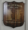 Roll of Honour, Avondale Baptist Church (photo John Halpin 2010) - CC BY John Halpin