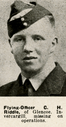 C. H. Riddle Portrait from the Weekly News - This image may be subject to copyright
