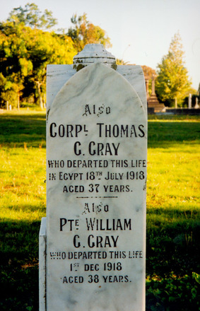 Family grave memorial, Makara Cemetery, Gisborne (photo P. Baker 2008) - No known copyright restrictions