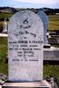 Gravestone at Pokeno Cemetery, erected by his comrades (photo Paul Baker 2010) - No known copyright restrictions