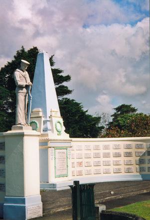 Waikaraka Veterans' Memorial Wall, vew 1 - No known copyright restrictions