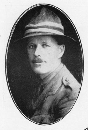 Portrait, Lt.-Col. Joseph Garrett Roache, photo originally published in Austin, W. (1924) p. 240-241 - No known copyright restrictions