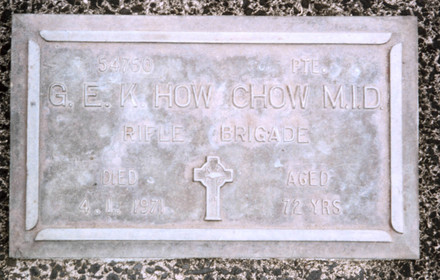 Headstone, Pukekohe Cemetery (provided by Paul F. Baker) - No known copyright restrictions