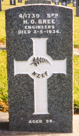 Headstone, Waikumete Cemetery - No known copyright restrictions