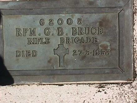 Bronze headstone, Onetangi Cemetery (photo Paul Baker 2004) - No known copyright restrictions