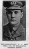 Portrait WW1, Brigadier-General B.C. Freyberg is from The Weekly News, November 28, 1918. - No known copyright restrictions