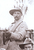 Portrait, Private Dunn in camp with Mangonui Mounted Rifles, 1901-02 - No known copyright restrictions