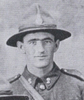 Portrait, WW1, Samuel Edward (Ted) Harwood, 8 July 1917 - No known copyright restrictions