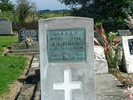 Headstone of E. L. BERGHAN 16/563 [Awanui, Northland] - No known copyright restrictions