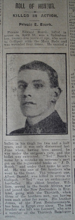 Portrait, Obituary The Star, 18 June 1918 - No known copyright restrictions