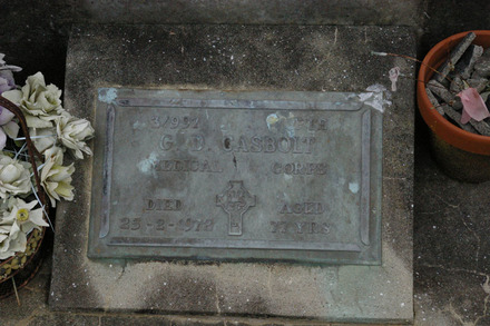 Headstone, O'Neills Point Cemetery (photo J. Halpin 2011) - No known copyright restrictions