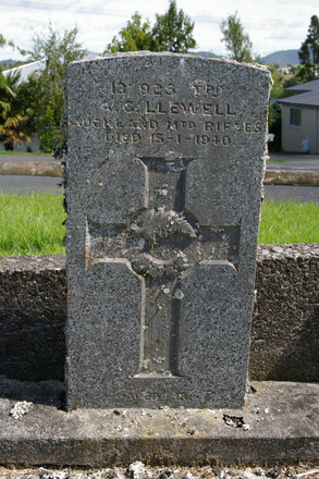 Headstone, Warkworth Cemetery, Percy Street (photo J. Halpin February 2011) - No known copyright restrictions