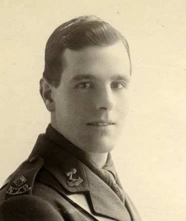 Portrait in uniform World War I, provided by Mike Harrison - No known copyright restrictions